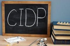 CIDP Demyelinating Chroniczny Podżegający Polyneuropathy obraz royalty free