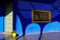 Cień, błękit i yeloow, Obrazy Stock