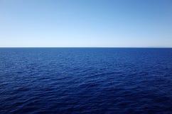 Cień błękit morze egejskie Obraz Stock