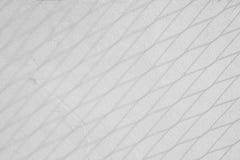 Cień kwadrat na szarej betonowej szorstkiej tekstury ścianie Zdjęcia Royalty Free