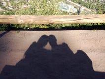 Cień miłość obrazy stock
