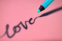 cień miłości. Obraz Stock