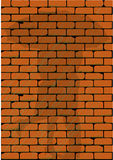 Cień na ścianie Zdjęcie Stock