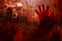 Cień ręka mężczyzna W posępnie atmosferze Fotografia Royalty Free