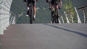 Cień rower na drodze zbiory