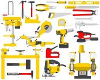 Cieśli narzędzia Obraz Stock
