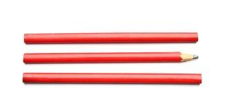 Cieśli ` s ołówki fotografia stock