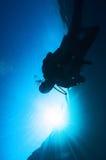 cień blisko powierzchni Obraz Royalty Free