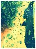 Cień deszcz Fotografia Stock