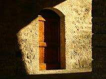 cień drzwi Zdjęcie Stock