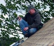cieśli domu dach Obraz Stock