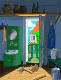 cieśli mieszkania bieda Fotografia Stock