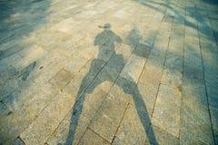 Cień z fotografem Zdjęcia Stock