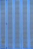 Ciechi blu fotografie stock libere da diritti