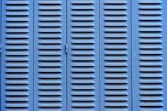 Ciechi blu fotografia stock libera da diritti