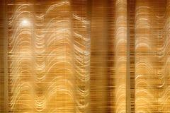 Ciechi di bambù chiusi immagini stock