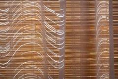 Ciechi di bamb? chiusi fotografia stock libera da diritti