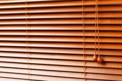 Ciechi di legno Immagini Stock