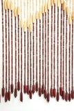 Ciechi di legno della perla Fotografie Stock Libere da Diritti