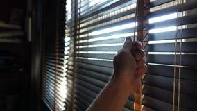 Ciechi di legno di Windows dei ciechi degli otturatori fotografia stock