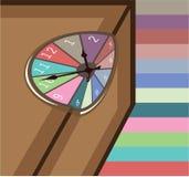 Ciecz Topiący Zegarowy abstrakt Fotografia Royalty Free
