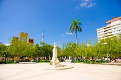 CIEGO DE阿维拉,古巴- 2015年9月5日:街市 免版税库存照片