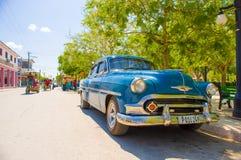 CIEGO DE AVILA, CUBA - SEPTEMBER 5, 2015: De stad in Stock Fotografie