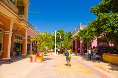 CIEGO DE AVILA, CUBA - 5 SETTEMBRE 2015: Del centro Fotografie Stock Libere da Diritti