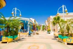 CIEGO DE AVILA, CUBA - 5 SETTEMBRE 2015: Del centro Immagine Stock