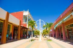 CIEGO DE AVILA, KUBA - 5. SEPTEMBER 2015: Im Stadtzentrum gelegen Lizenzfreie Stockfotos