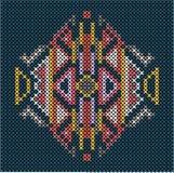 Ściegu etniczny ornament Zdjęcie Royalty Free