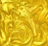 Ciekła akrylowa luksusowa złota tekstura zdjęcia royalty free