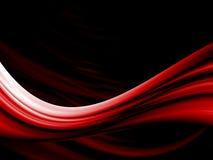 Czerwony falisty tło Obrazy Stock
