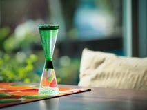 Ciekły Hourglass Zdjęcia Royalty Free