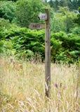 Ścieżka znak Zdjęcia Stock