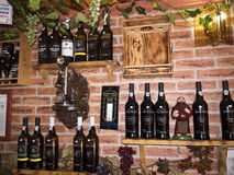 Ciekawa kawiarnia w Alfama okręgu LIsbon Portugalia Obraz Stock