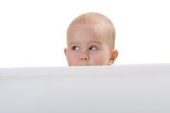 ciekawi dziewczyny obrazka potomstwa obraz stock