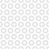 Ciekawy Monochromatyczny Wklęsły piłka wzoru tło Obrazy Stock
