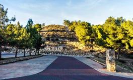 Ciekawy parking przy wejściem chowana dolina zdjęcie royalty free