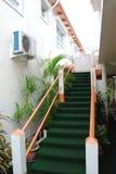 Ciekawy schody Zdjęcia Royalty Free