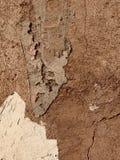 Ciekawy wzór na nieociosanej ścianie zdjęcia royalty free