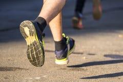 Cieki jogger fotografia royalty free