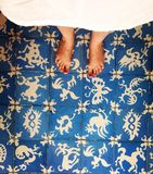 Cieki na pod?oga zdjęcie royalty free