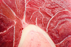 Cielęcina pokrajać część mięso dla tekstury lub tła Obraz Royalty Free
