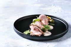 Cielęcina z tuńczyka kumberlandu vitello tonnato obrazy stock