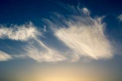 Ciel à Amman Image libre de droits