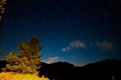 Ciel étoilé images stock