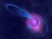 Ciel étoilé abstrait Image stock