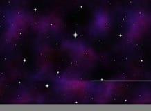 ciel étoilé de l'espace ou de nuit   Photo libre de droits
