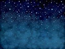 ciel étoilé de vecteur illustration libre de droits